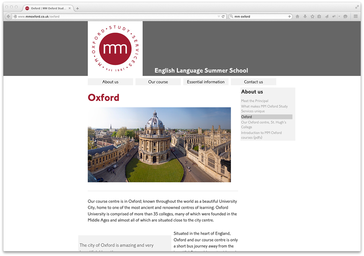 MM Oxford Study Service | teflSearch